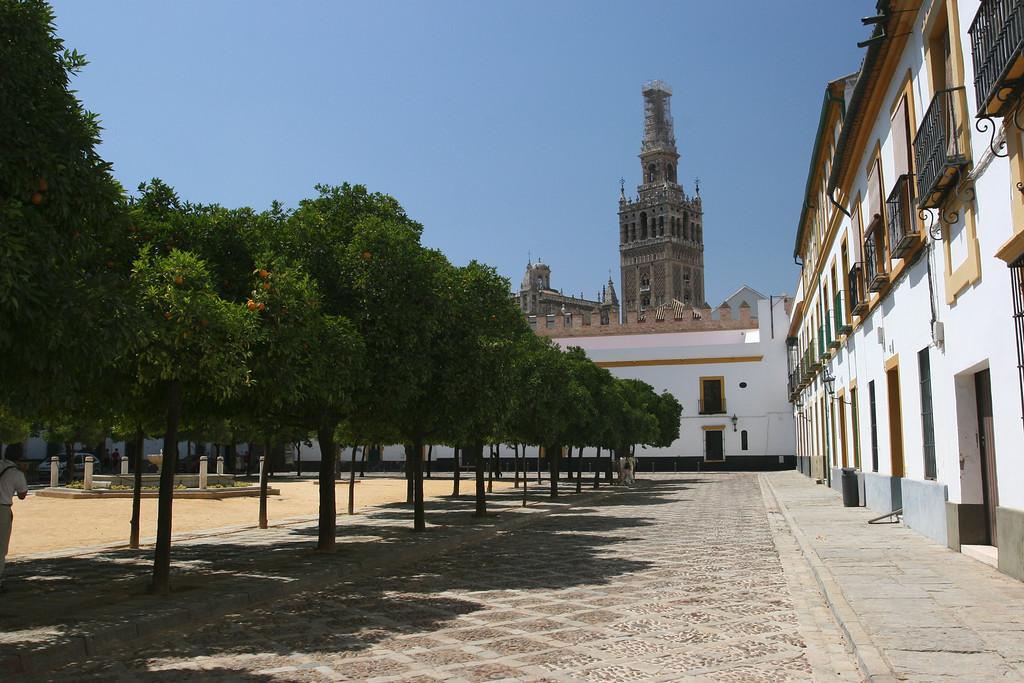 The Alcazar, built in the moorish style for the Christian kings.