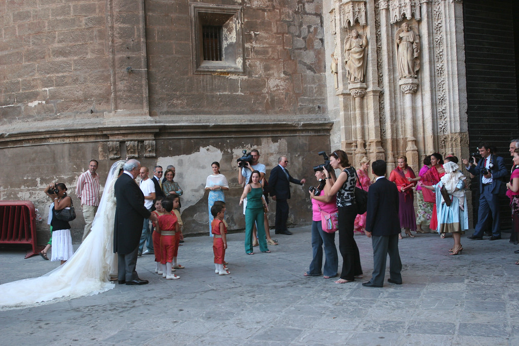 Couples still use the cathedral for marriages