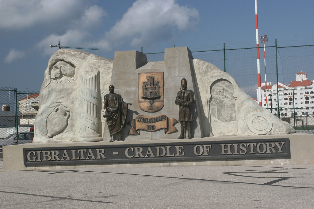 Entrance of Gibraltar