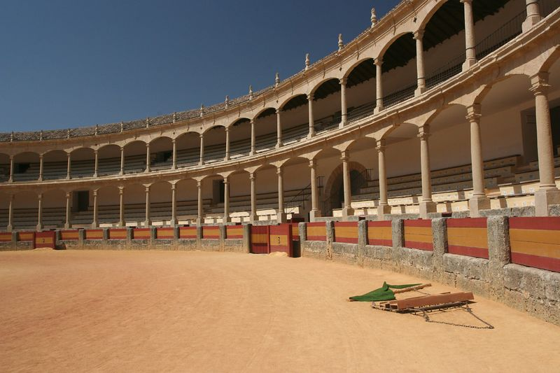 The bullring in Ronda is the oldest one in Spain