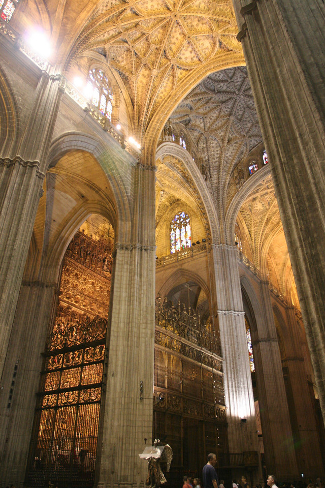 The Cathedral of Sevilla.