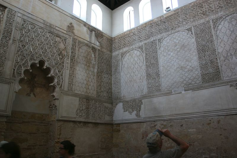 The old synagogue from the 11th century. This was where the philosopher Maimonedes lived