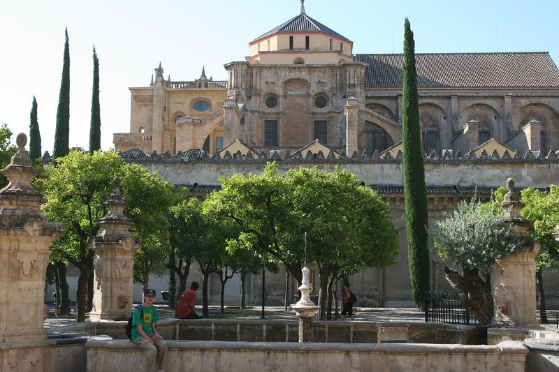 The Mesquita- this ancient mosque, started in the 9th century, had a church dropped into the middle of it by the reconquering Christians.