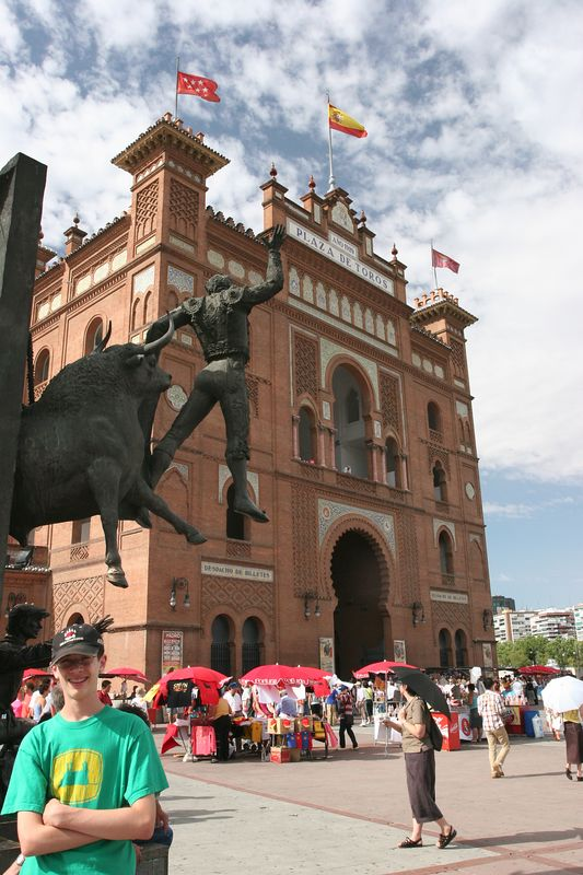 Our last day. Had to see a bullfight