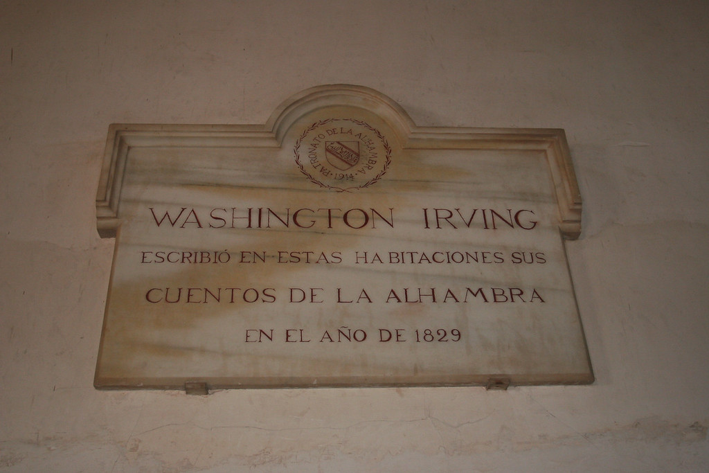 Washington irving stayed here. Really. He wrote tales of the Alhambra here