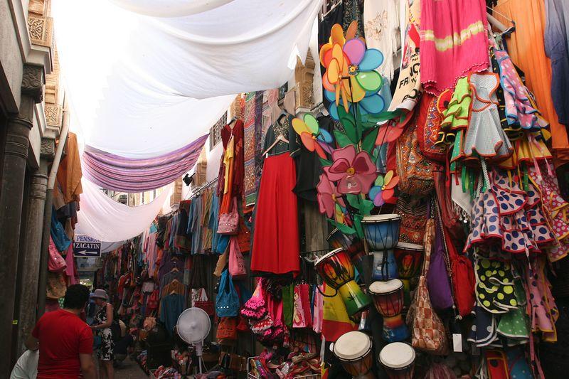 Granada shopping street