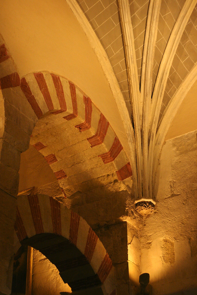 An example of where baroque meets moor, here in the corner of the roof