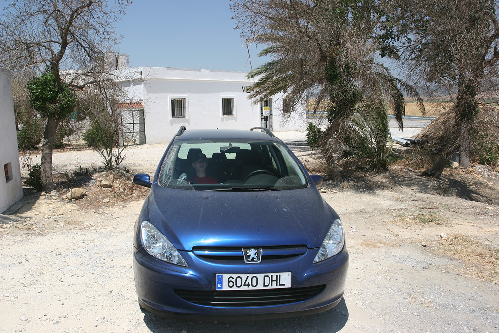 After 3 days in Sevilla, we rent a car to drive to the south for a couple of days