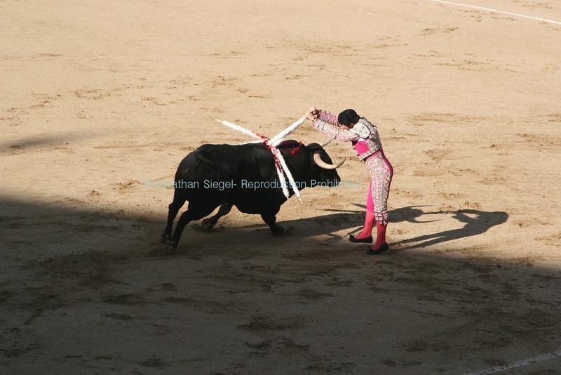 Bullfight, Madrid Spain