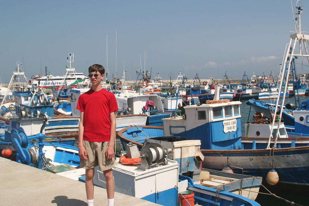 We spent a day in Tarifa, the southern most point in Europe, 12 miles from Morocco.