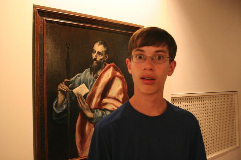 Ben grew to recognize el Greco's style anywhere