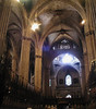 Barcelona Gothic Cathedral interior