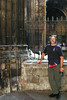 Barcelona Cathedral cloister refuge