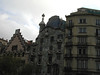 "Apartments designed by Gaudy in the ""Art Nouveau"" style, very big stuff in Barcelona."