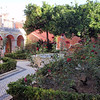 Garden near the cathedral of Faro