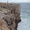 Sagres, Cape Sao Vicente. a 60 ft drop into wicked surf