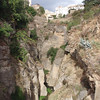 Ronda ~ Looking upstream from the bridge