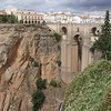 Ronda ~ Waterfall below the bridge