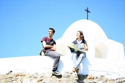 Little mountain village Felix in the vicinity of Almeria