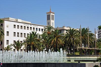 Rambla in Almería