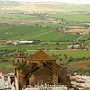 One of Arcos's picturesque churches looks out onto the surrounding plains.