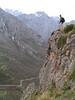 Cristian en la ruta de los Picos de Europa