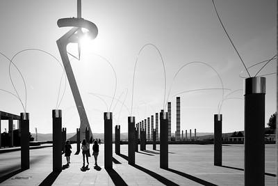 Barcelona - Monochrome