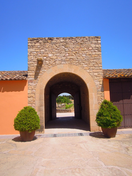 Entrance to the winery!