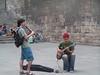 Musicos en la Plaça del Rei