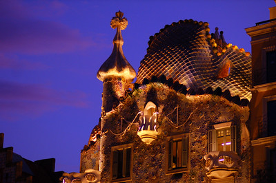 Casa Battlò, one of Gaudì's masterpieces