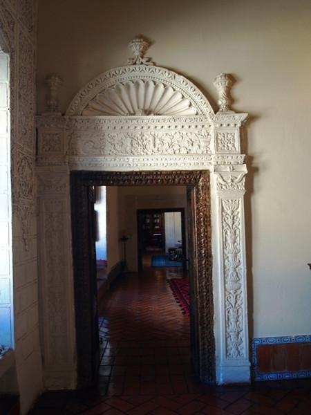 Interior del Palacio de Avellaneda