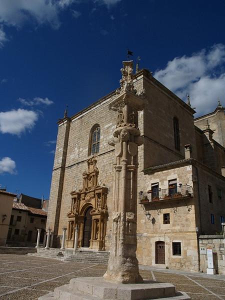 La Plaza Mayor de Peñaranda de Duero