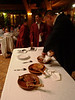 """Corte del lechazo por el Maitre del Restaurante """"Los Rastrojos"""""""