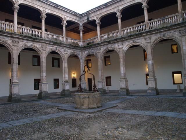 Claustro del Palacio de Avellaneda
