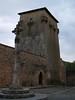 Torreón sobre la muralla de Covarrubias