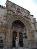 Portada de la iglesia de Santa María en Aranda de Duero (Burgos)