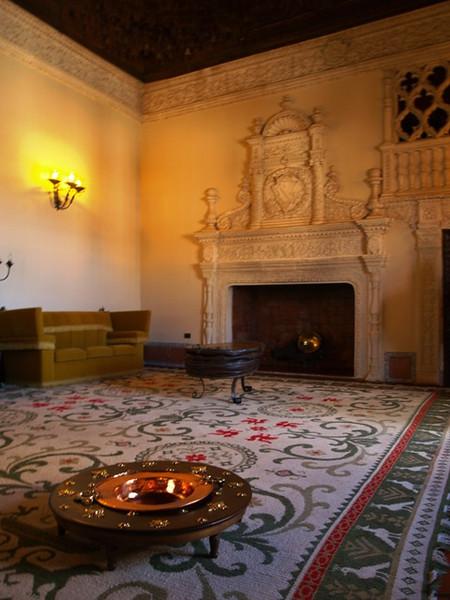 Interior del Palacio de Avellaneda en Peñaranda de Duero