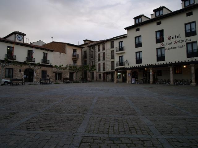 La plaza Mayor de Covarrubias