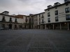La plaza Mayor de Covarrubias