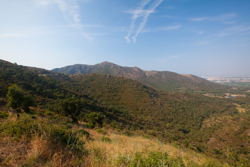 On the mountain road to Cadaques