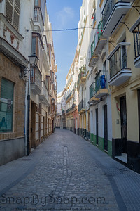 A Street in the City of Cadiz