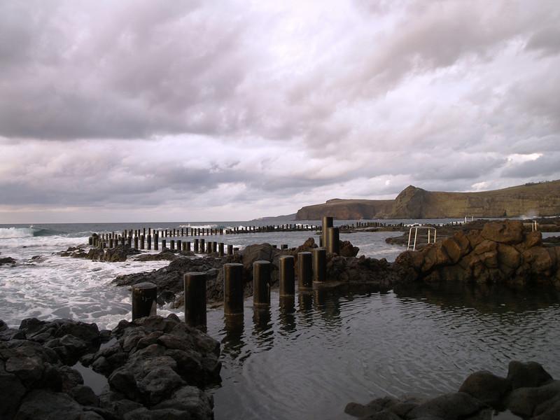 Piscinas Naturales en la costa (Agaete)