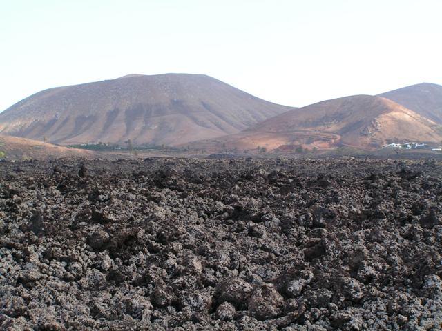 Tierras volcánicas de Lanzarote