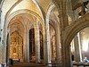 Interior de la iglesia de San Vicente de la Barquera