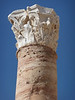 Nice Corinthian column in the Roman theater