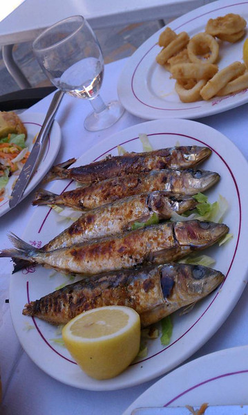 Sardines for lunch!