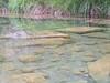 Matarraña, laguna de agua sobre la ruta de ascenso del rio