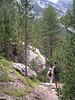 Pedraforca ascenso a la cima de 2498 m.