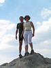 Luis y Marie en la cima del Pedraforca