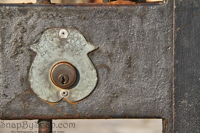 An old Iron Lock